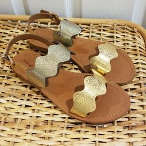 *NEW* Indigo rd. Sandals Irshe Gold Multi LL